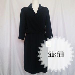 NWT Liz Claiborne size 8 professional wrap dress